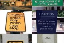 Crazy signs!