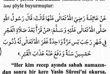 recep ayı dua