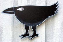 Mulhback, Alice  artist ravens / by Marge Tillman