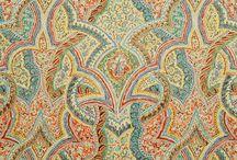 Paisley / Paisley fabrics, pillows...