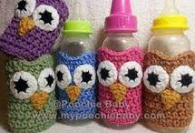 crochet baby bits