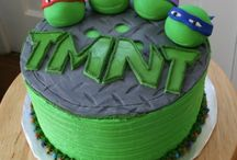 TMNT Birthday Party! / 4yr old Birthday party / by Megan Canaday