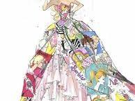croqui de moda