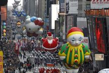 NY, la parata del Thanksgiving Day!