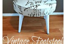 DIY Furniture Projects / Recover & Love!