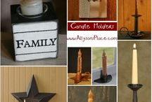 Primitive Candles & Fixings / by Allyson's Place