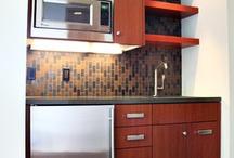Flat kitchenette