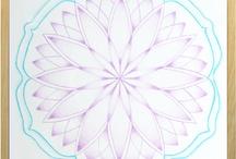 Workshop Lotusmandala 13-11-2012 / De lotusbloem is het symbool voor zuiverheid en voor de eeuwige vernieuwing van het leven.   Heb je zin om vanuit deze symboliek een prachtige lotusmandala te maken? Dan ben je van harte uitgenodigd om mee te doen! Voor meer informatie en/of aanmelden kun je contact opnemen met: Joke van der Ven  @ info@innerlijkekleurkracht.nl