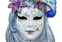 maska karnevalová