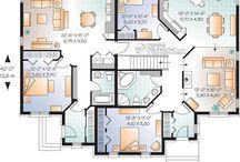 Plans de maison bi génération