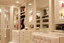 Closet/makeup station