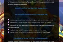 Castle Clash-Castle Clash Hack And Cheats / Castle Clash Hack APK was developed in general to assist all other players in gaining an edge inside Castle Clash. Where gamers won't be expected to waste away their time and money trying to acquire, as well as unlock all the many resources inside of the game. http://castleclashhackandcheats.com/