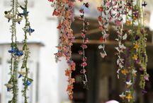 цветы (фриволите, вязание)