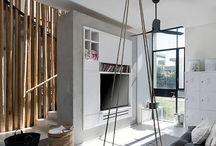 bonne idée mur de bambou
