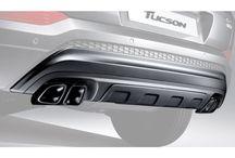 TUIX DUAL MUFFLERS PACKAGE FOR HYUNDAI ALL-NEW TUCSON – 2015-16 MNR