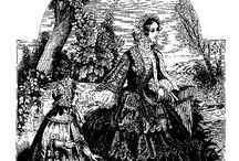 sewing patterns 1850's