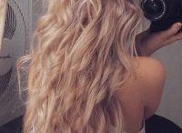Beautiful hair / hair styling, make up, beauty