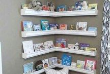 Book-Organization & Projects / Fun and exciting ways to organize or repurposed books