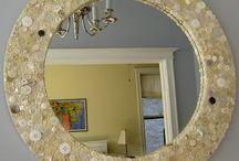 Decorate a mirror