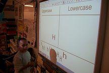 Flip chart-promethean board