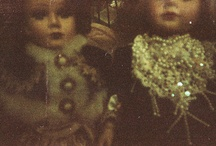 vintage dolls / by Lillian Minne