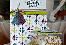 Eastern Palace papercraft - Stampin' Up!