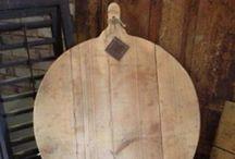 Broodplank / Gezaagd uit verschillende hout soorten