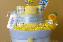 Baby nappy cakes A