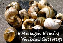 Michigan Travel / Michigan family travel ideas. Highlighting some of the best spots to visit in Michigan! Family travel, young family travel, large family travel too. Best spots to eat in Michigan.
