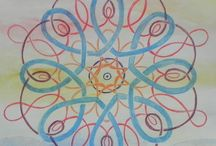mandala en andere tekeningen