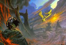 Middle Earth Art / Art inspired by the epic tales of Middle Earth by J. R. R. Tolkien.