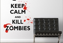 Zombies Grrrrr.... Ahhhhh...... Brains / Just to feed my Zombie obsession, maybe even make a zombie/horror room one-day.  / by juliet appiah-nyanta