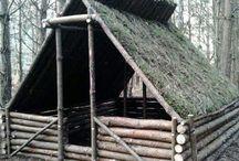 boudy a přístřešky