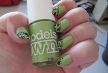 Nail polishes / Here's my nails with nail polish or those polishes I would like to own