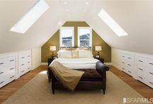 Master bedroom attic ideas