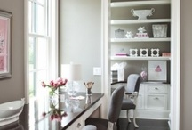 interior design | offices / designing offices & styling / by Heather Scherie for Whitestone Design Group