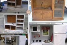 Boys Work bench/ Kitchen ideas