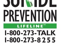 SUICIDE PREVENTION / Every 12.8 minutes someone in the U.S. loses their battle with suicidal thoughts. We can help.