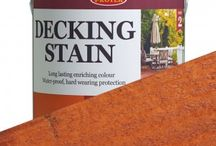 Protek Decking Stain / This wood stain is very hard wearing and will last for years even when exposed to UV in the horizontal plain. Once applied Protek Decking Stain leaves behind a hard durable surface that can withstand everyday foot traffic. It is a water based acrylic and Alkyd hybrid that incorporates a polyurethane dispersion based on linseed oil, a natural renewable resource. This waterproofing stain can also be used to colour and protect hardwood and softwood garden furniture, summerhouses etc.