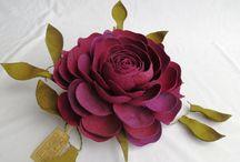 Flores feitas com embalagem de maçã / As embalagens que dão suporte para maçãs, peras, podem se transformar em lindas flores e mandalas