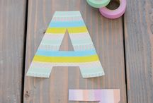 Washi Wonders / Fall in love with the simple wonders of Washi Tape as a craft and DIY material for adults and kids