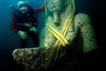 UNDERGROUND EGYPTIAN CITY / AMAZING UNDERWATER EGYPTIAN CITY HERAKLEION IS EXCAVATED,,,,, http://www.thetombofamphipolis.com/amazing-egyptian-underground-discovery-in-thonis-heracleion/
