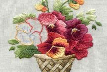 Embroidery. samples / I love browsing through this board, - some people are just so talented and creative