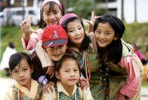 Bhutan / People of Bhutan, main focus on the beautiful royal couple and the sweet crown prince <3