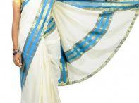 Kerala Kasavu Saree / Buy Kerala kasavu sarees online from joana sarees