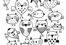 Owls / by Olly Holly