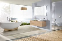 Villeroy & Boch - Baths and indoor pools / Relaxation and a sense of well-being.  Transform your bathroom into your very own wellness spa. Villeroy & Boch offers a great variety of forms and design solutions to suit every taste. A great range of baths leaves plenty of scope for individual design.