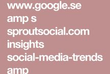 Social networking trends.