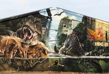 Murals, graffiti & street art