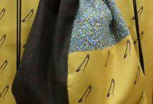 Mochilas Alfiler / Mochilas artesanales, confeccionadas con diferentes tejidos exclusivos